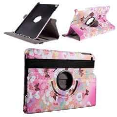 Apple iPad Mini 4 Hoesje Vlinders, Draaibaar