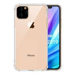 Apple iPhone 11 Pro Max TPU Hoesje Anti-shock Transparant