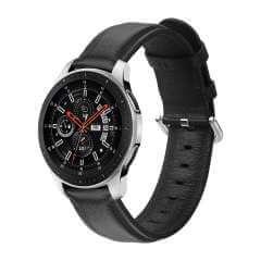 Bandje Zwart Leer Samsung Galaxy Watch 46mm