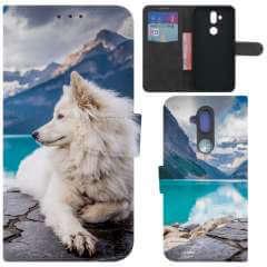 Boekhoesje Nokia 8.1 met eigen foto