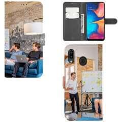 Boekhoesje Samsung Galaxy A30 met eigen foto