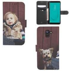 Boekhoesje Samsung Galaxy J6 2018 met eigen foto
