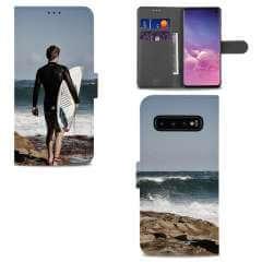 Boekhoesje Samsung Galaxy S10 met eigen foto