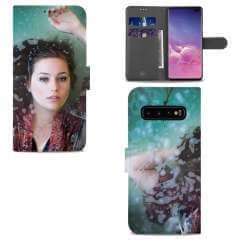 Boekhoesje Samsung Galaxy S10 Plus met eigen foto