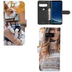 Boekhoesje Samsung Galaxy S8 met eigen foto