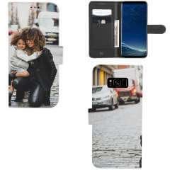 Boekhoesje Samsung Galaxy S8 Plus met eigen foto