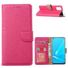 Book Cover OPPO A72 | OPPO A52 Roze met Pasjeshouder