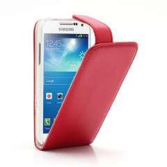 Flip Hoesje Samsung Galaxy S4 Mini i9190 Rood
