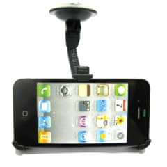 Houder Apple iPhone 4/4S met Zuignap