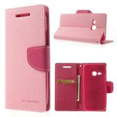 HTC One Mini 2 Hoesje Lichtroze/Roze