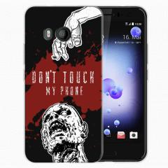 HTC U11 TPU Hoesje Maken met Foto's