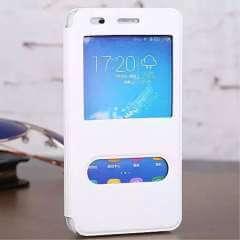 Huawei Honor 4A Hoesje Wit met Vensters