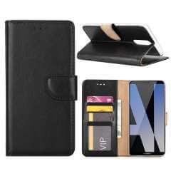 Huawei Mate 10 Lite Hoesje Zwart met Standaardfunctie
