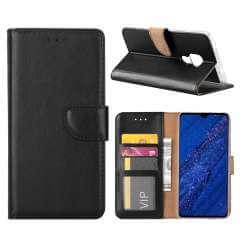 Huawei Mate 20 Hoesje Zwart met Pasjeshouder