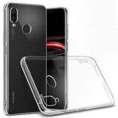 Huawei P Smart Plus Hardcase Hoesje Transparant + Screen Protector