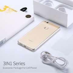 Huawei P8 Lite TPU Hoesje, Screen Protector en Oplader