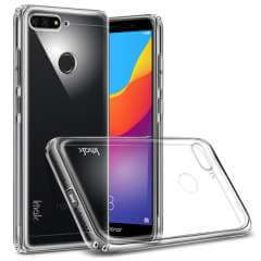 Huawei Y6 (2018) TPU Hoesje Transparant + Screen Protector