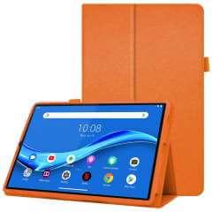 Lenovo Tab M10 Hoes Oranje met Standaard