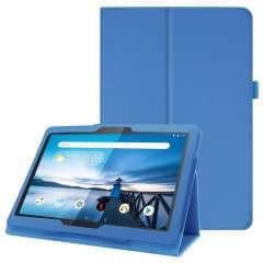Lenovo Tab M10 Hoesje Lichtblauw met Standaard