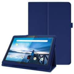 Lenovo Tab P10 Tablethoes Blauw met Standaard