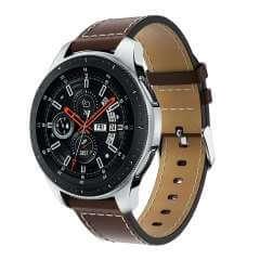 Leren Bandje Bruin Samsung Galaxy Watch (46 mm)