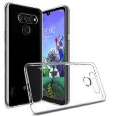 LG Q60 TPU Hoesje Transparant