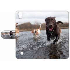 LG X Power Exclusief Design Hoesje Honden
