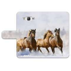Microsoft Lumia 640 Uniek Ontworpen Hoesje Paarden
