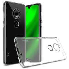 Motorola Moto G7 Plus TPU Hoesje Luxe Transparant