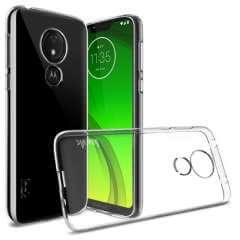 Motorola Moto G7 Power TPU Hoesje Luxe Transparant