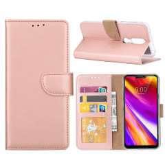 Nokia 7.1 Hoesje Rose met Pasjeshouder