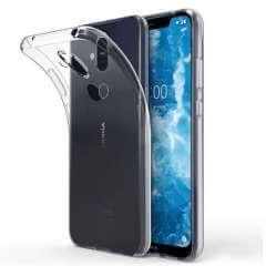 Nokia 8.1 TPU Hoesje Transparant