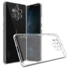 Nokia 9 PureView Silicone Hoesje Transparant