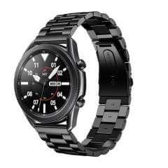 RVS Bandje Samsung Galaxy Watch 3 (45mm) Zwart