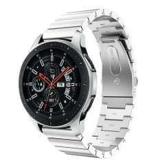 RVS Bandje Zilver Samsung Galaxy Watch (46 mm)