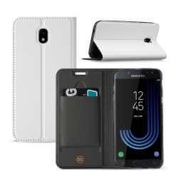 Samsung Galaxy J5 2017 Hoesje Wit met Opbergvakje