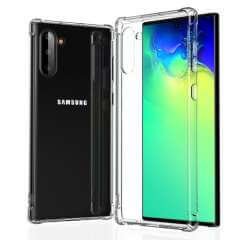 Samsung Galaxy Note 10 Hoesje Anti-Shock Transparant