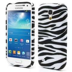 Samsung Galaxy S4 Mini i9190 Zebra TPU Case Hoesje