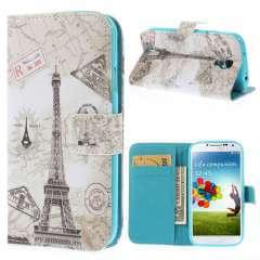 Samsung Galaxy S4 Stand Case Eiffeltoren Design