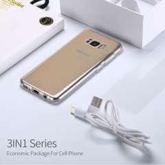 Samsung Galaxy S6 Edge TPU Hoesje, Screen Protector en Oplader