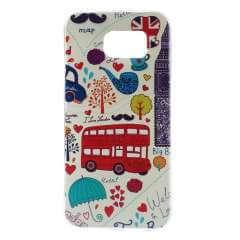 Samsung Galaxy S6 Leuk Hoesje met London, G920f