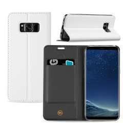 Samsung Galaxy S8 Hoesje Wit met Standaardfunctie