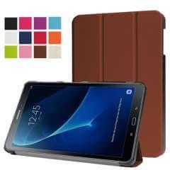 Samsung Galaxy Tab A 10.1 2016 Hoesje Bruin met functie als standaard, T580