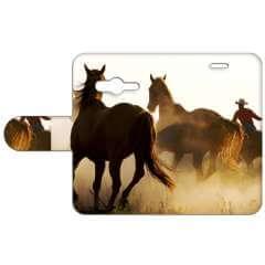 Samsung Galaxy Trend 2 G313 Uniek Boekhoesje Cowboy