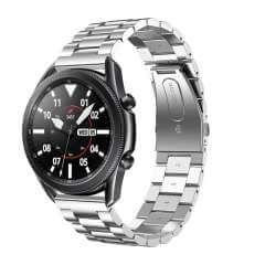 Samsung Galaxy Watch 3 (45mm) RVS Bandje Zilver