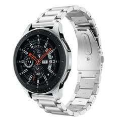 Samsung Galaxy Watch (46 mm) RVS Bandje Zilver