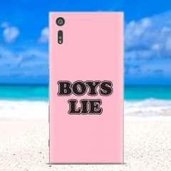 Sony Xperia XZs | XZ Flexibel Hoesje Boys Lie