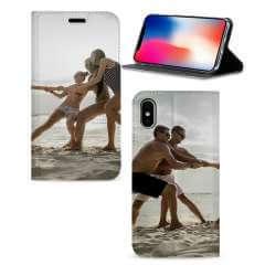 Standcase Hoesje Apple iPhone X | Xs met eigen foto