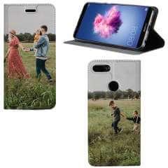 Standcase Hoesje Huawei P Smart met eigen foto