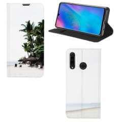 Standcase Hoesje Huawei P30 Lite New Edition met eigen foto